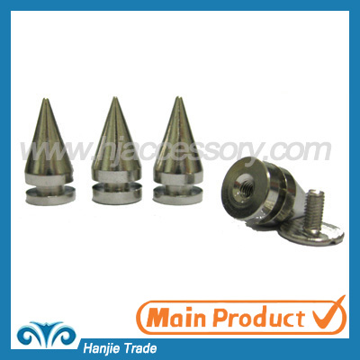 Bulk Punk Spikes Tree Cone Screw Spikes Studs