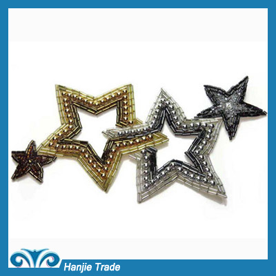 Wholesale Handmade Star Shaped Applique And Trim