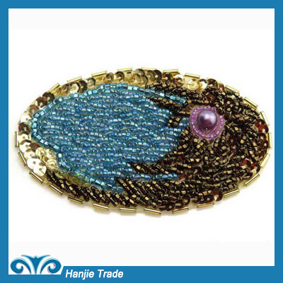 Wholesale Fashion Colorful Applique Beads Patches