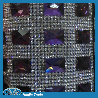 Wholesale New and Hot-sale Rhinestone Mesh Sheet Trimming
