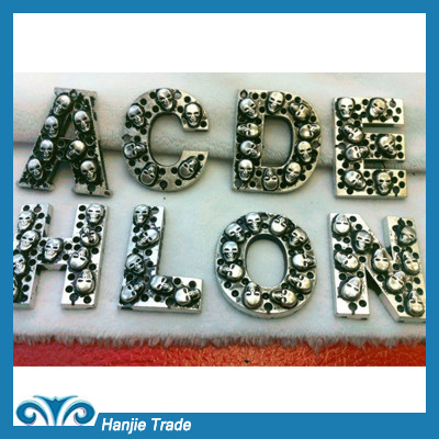 Newest Fashion Letters Hardware Garment Accessories