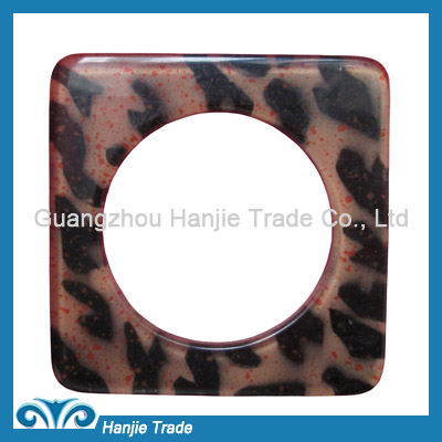 Wholesale square decrotive plastic buckles for belt
