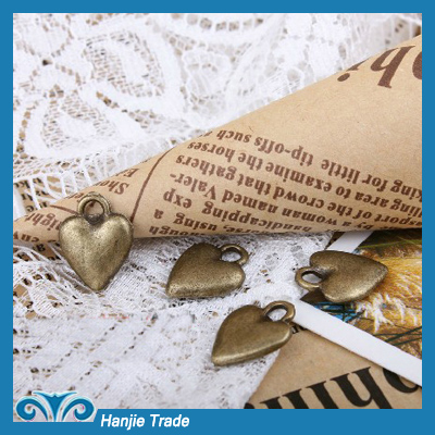 Stock Charms Antique Bronze Necklace Pendant in Wholesale