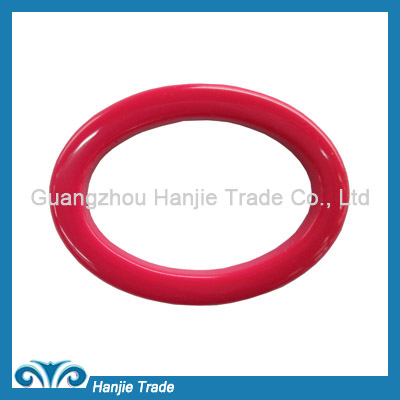 Wholesale red oval plastic buckles