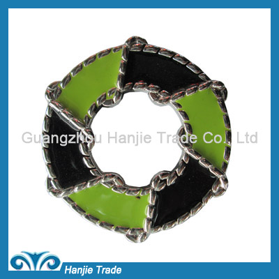 Wholesale plastic o-ring buckles for decorating