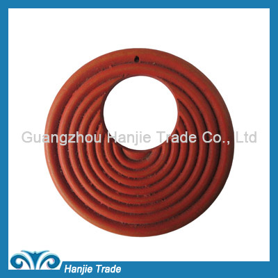 Wholesale wood o-ring buckles for decorating