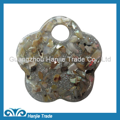Wholesale flower plastic buckles for decorating
