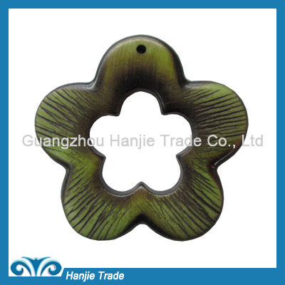 Wholesale flower plastic buckles for garment accessories