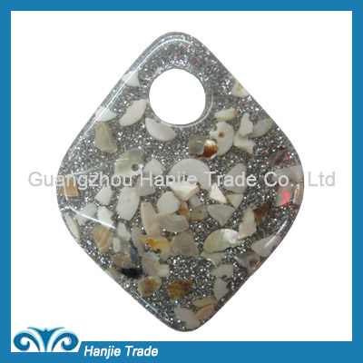 Wholesale diamond shaped plastic buckles for decoration