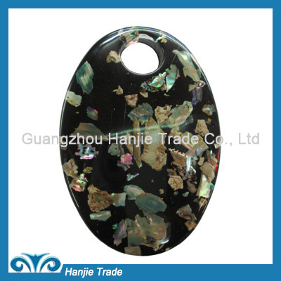 Wholesale oval plastic garment buckle