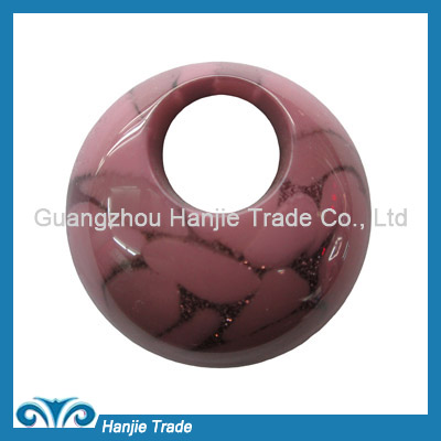 Wholesale round plastic buckles for decorating